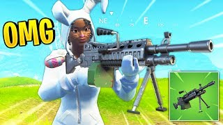 NEW LIGHT MACHINE GUN COMING! | Fortnite Best Stream Moments #77 (Battle Royale)