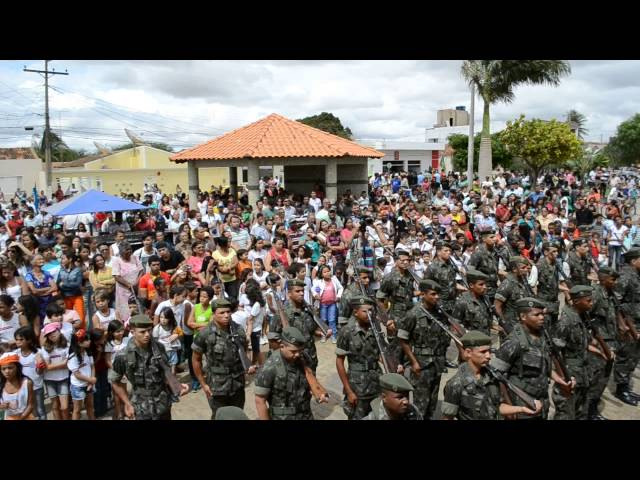 João Dourado: Desfile cívico de 7 de setembro. Parte 6
