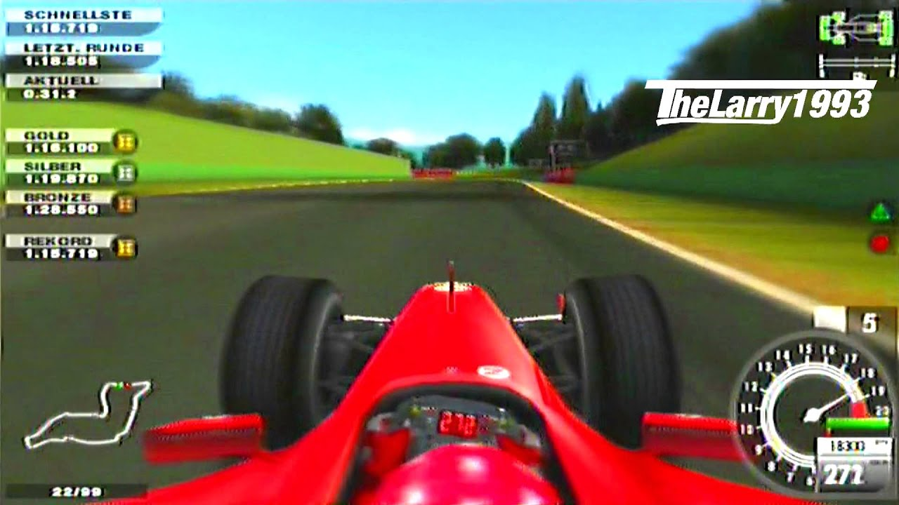 Car And Driver Subscription >> [PS2] F1 2005 - M.Schumacher in Imola 1.12.575 - YouTube