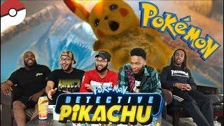 POKÉMON Detective Pikachu Official Trailer #1 REACTION