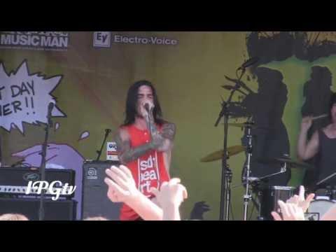 "Like Moths to Flames - ""Learn Your Place"" LIVE! [HD] @ 2013 Vans Warped Tour Detroit, MI"