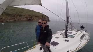 First time - Sailing to Catalina Island - Long Beach to Two Harbors - April 2017