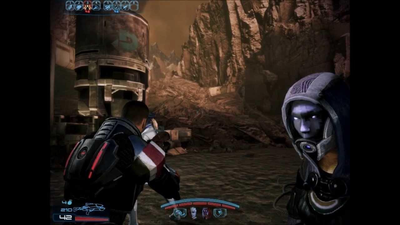 Mass Effect 3 - Tali unmasked ingame - YouTube