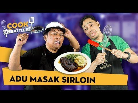 ADU MASAK SIRLOIN - Chef Deny VS Marshel  | COOK BATTLE #4