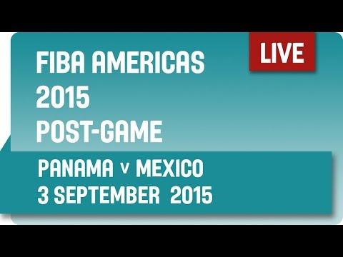 Post-Game: Panama v Mexico - Group A -  2015 FIBA Americas Championship