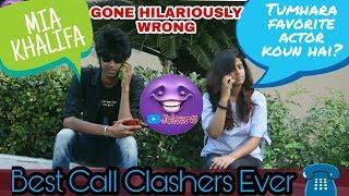 Call Clashing Prank Part 2 Double Dhamaka Pranks in india YouTube Jokers 