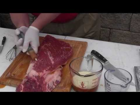 Complete Brisket Prep and Cook Kosmo Q vs Butcher BBQ