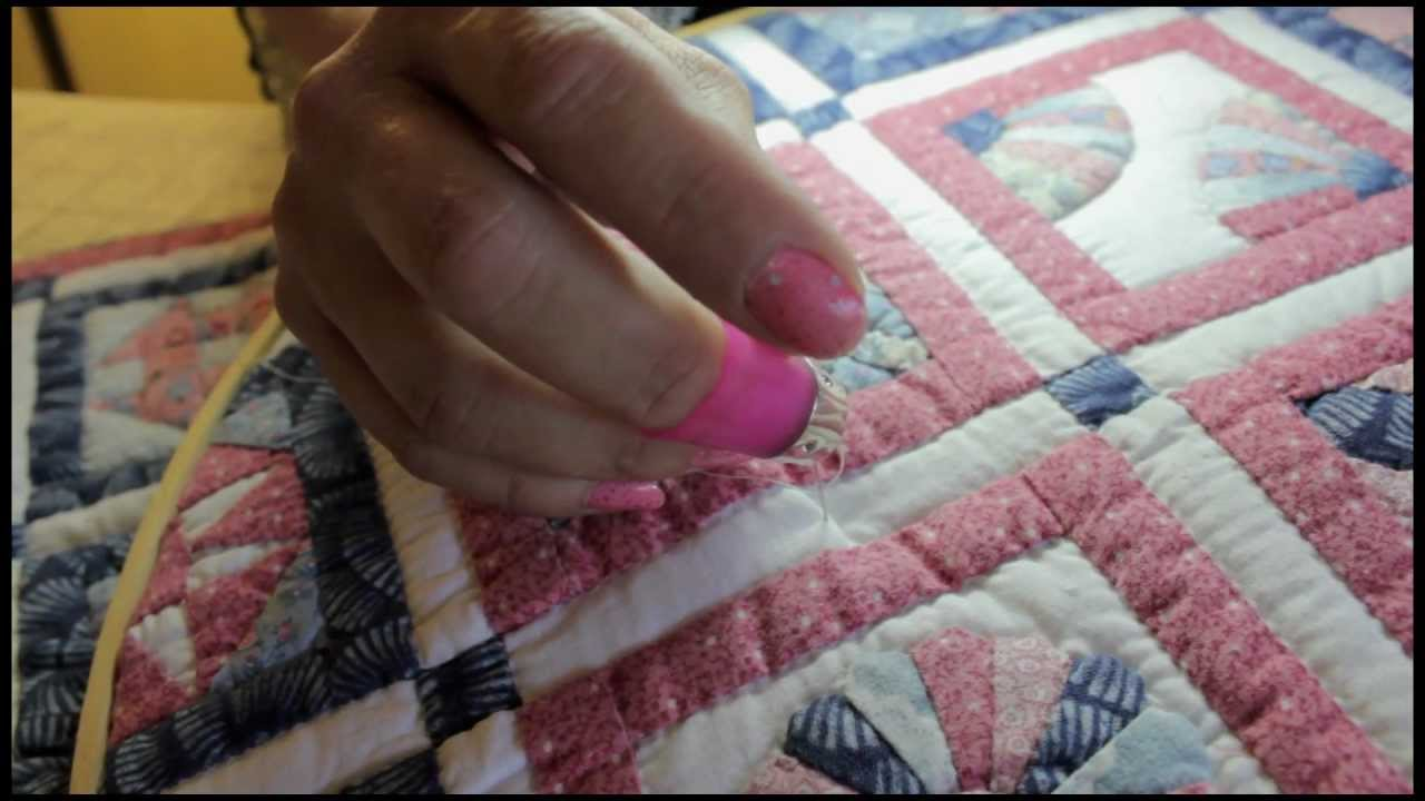 Hand Quilting For Beginners The Rocking Motion Amp Knot