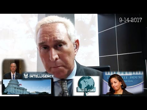 Roger Stone on Upcoming Testimony to House Intel Committee, Obama/Susan Rice Political Unmasking
