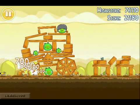 Angry Birds (Level 5-4) 3 Stars