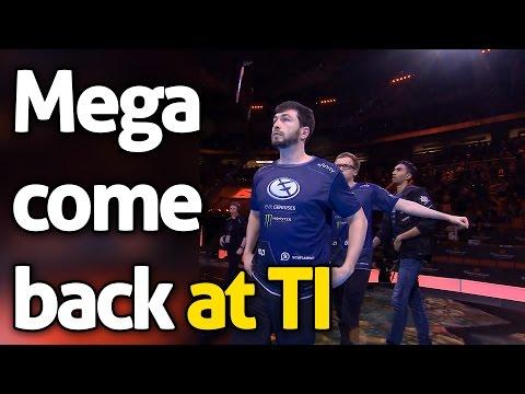 Mega Comeback at TI - EG EHOME - Dota 2 Ti 6 Main Event | Upper Bracket