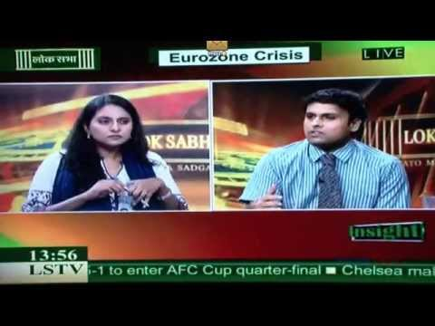 Dr, Sreeram Chaulia on Eurozone economic crisis