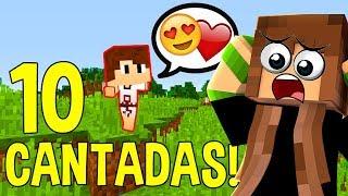 Download Lagu 10 CANTADAS PRA VOCÊ CONQUISTAR UMA NAMORADA NO MINECRAFT! Gratis STAFABAND