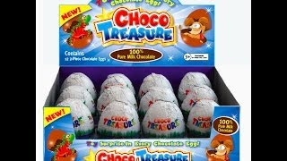 Choco Treasure,  Surprise Eggs,  Unboxing,  Choco Treasure,  Surprise Egg,  玩具, おもちゃ
