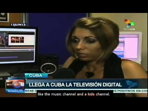 Digital TV testing phase is launched in Cuba