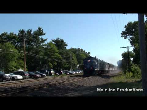 HD: Joint Pan Am/Norfolk Southern OCS at Shirley, MA
