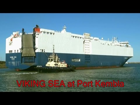 VIKING SEA (Vehicle Carrier) Port Kembla Departure