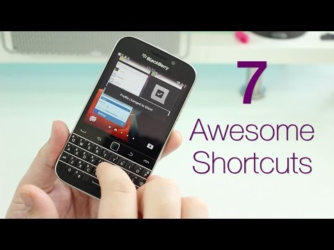 7 Awesome BlackBerry Classic keyboard shortcuts