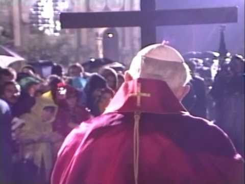POPE JOHN PAUL II GOOD FRIDAY EASTER 1992