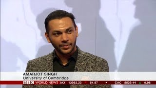 BBC World News Interview about our Drone Surveillance System titled 'Eye in the Sky..'
