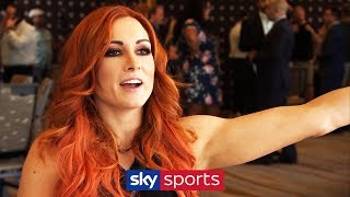EXCLUSIVE: Becky Lynch on the 'hostile' SummerSlam crowd, Stone Cold Steve Austin and Ronda Rousey!