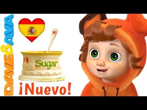 🤥 Juancho Juancho Sí Papa   Canciones Infantiles y Canciones para Niños de Dave y Ava 🤥