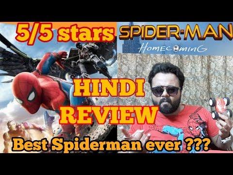 SPIDER-MAN: HOMECOMING | Review | Hindi | India | 5/5 stars thumbnail