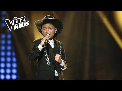 Jhon Alan canta María, María - Audiciones a ciegas   La Voz Kids Colombia 2018