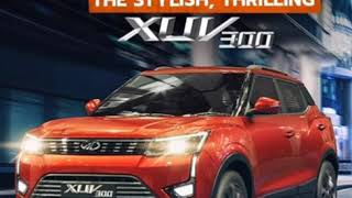 2019 Top 4mtr SUV. The Mahindra XUV300.
