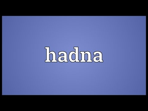 Header of hadna