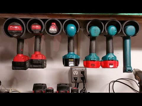 HOWTO: Power tool cubbies