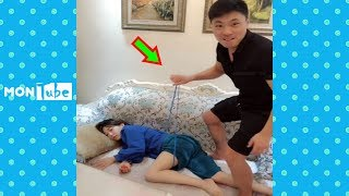 Try not to laugh challenge 2019 ✦ The funny moments and prank videos P4