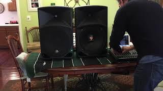Rockville RVW1500P8 Speaker Demo in a Mackie Thump15