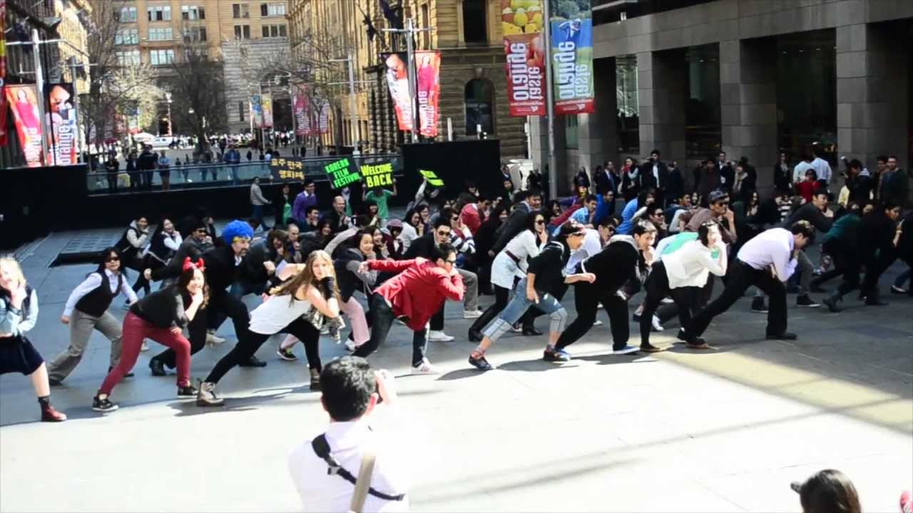 Music videos with flash mobs marriage
