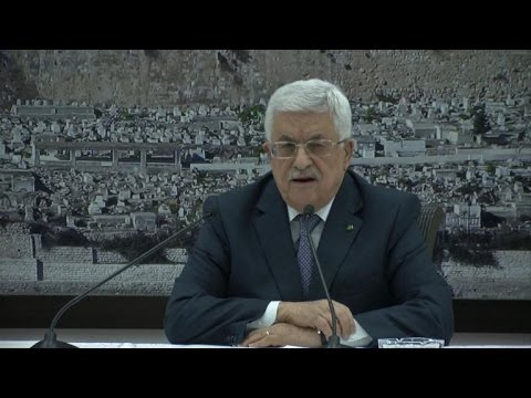 Abbas formally announces deal with Israel on Gaza truce