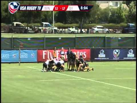 2013 Emirates Airline USA Rugby Women's College Championship - WINvQU