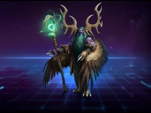 Heroes of the Storm- Pestering ArthasBot- Malfurion's Forest of Doom