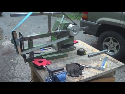 Homemade 2 x 72 Belt Grinder Build Part 1