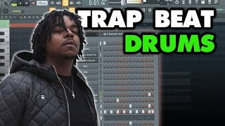 TUTORIAL - Trap Beat Drums Like Wheezy (Future, Lil Baby, Drake)