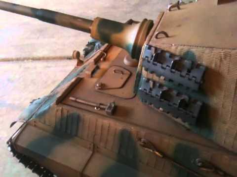 R/C Armory King Tiger - RC tank