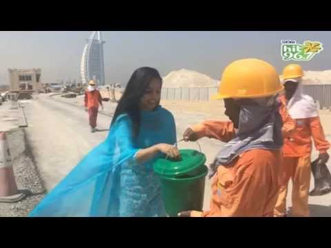 RJ Nimmy - Hit Fm Rice Bucket Challenge