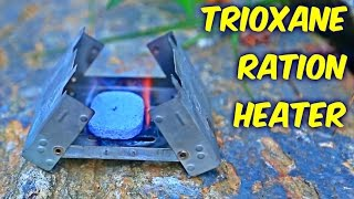 Trioxane Survival Rations Heater Test