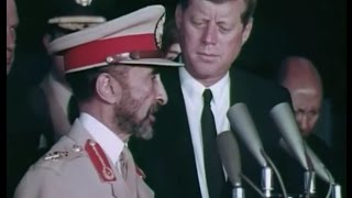 Haile Selassie's Second State Visit To The United States Of America October 1963
