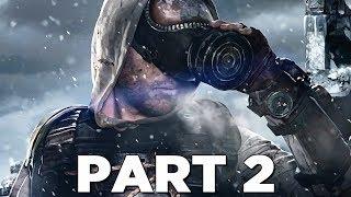 METRO EXODUS Walkthrough Gameplay Part 2 - WINTER (Xbox One X)