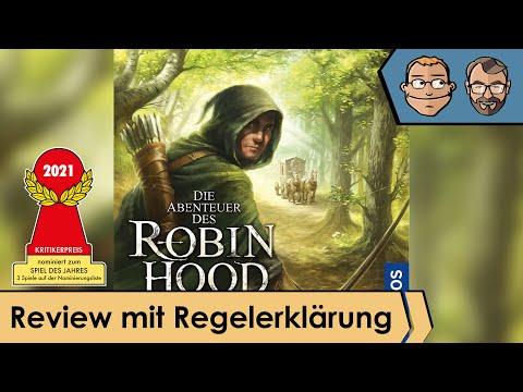 Die Abenteuer des Robin Hood – Brettspiel – Review und Regelerklärung