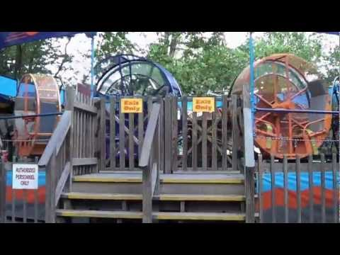 Looper at Knoebels Amusement Resort off-ride POV by COTD in Full HD