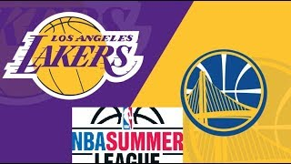 Summer League Live Stream: Golden State Warriors Vs LA Lakers (Live Reaction & Play By Play)
