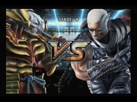 Tekken 5 - Yoshimitsu video