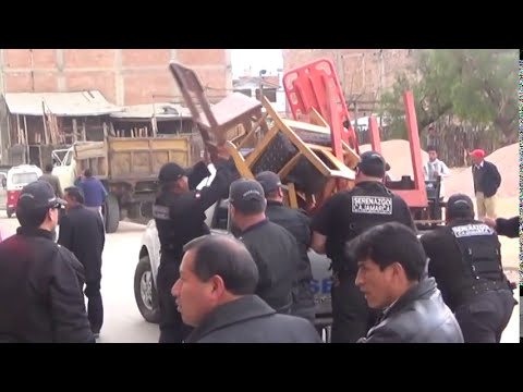 SERENAZGO CAJAMARCA - Abuso sexual a menor/ Operativo Conjunto/ 12-09-14