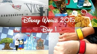 Disney World Vlogs 2015 | Day 1